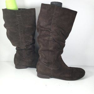 Pesaro Torri Slouch Boots Brown Size 8